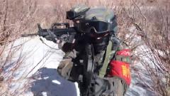 武警西藏總隊:實訓實考 磨礪反恐鋒刃