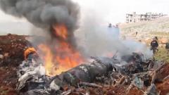 敘政府軍又一架直升機被導彈擊落
