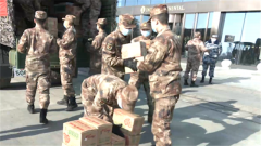 【直通疫情防控一線】湖北省軍區保障軍隊醫療隊生活物資供應