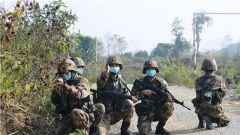 瞄準實戰練精兵!南部戰區陸軍某邊防旅機步營開展戰斗演練考核