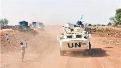 中国第6批赴南苏丹维和步兵营顺利完成首次长途武装护卫任务