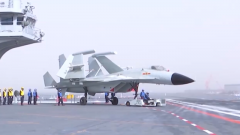 """首艘国产航母""""山东舰""""试验训练稳步推进"""