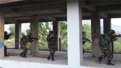 云南孟連:武警實戰演練 鍛造反恐尖兵