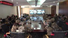 【直通疫情防控一線】解放軍總醫院為軍隊支援湖北醫療隊遠程授課