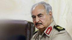 """关注利比亚局势 俄防长会见利比亚""""国民军""""领导人"""