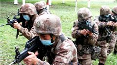 向戰而行!陸軍第77集團軍金剛鉆旅某合成營開展實戰化戰術演練