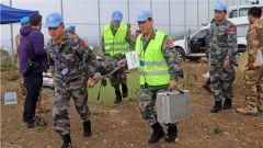 中國第18批赴黎維和部隊參加聯黎部隊航空應急救援演習