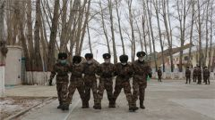 """駐疆某邊防團開展心理行為訓練 促進""""心""""生戰斗力"""