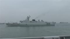 南部戰區海軍某護衛艦支隊組織艦艇編隊實戰化對抗訓練