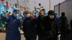 【直通疫情防控一線】火神山醫院今日出院71人 累計治愈155人