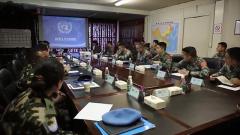 中國赴黎巴嫩維和分隊通過聯合國軍事能力評估