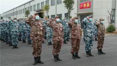 【直通疫情防控一線】抗擊疫情運力支援隊10名官兵火線入黨