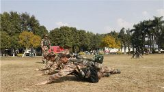 南部戰區陸軍某邊防旅指揮通信連開展戰術訓練 夯實新兵素質基礎