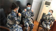 空軍杭州特勤療養中心療養二區心理分隊苦學精練 備戰災后心理援助