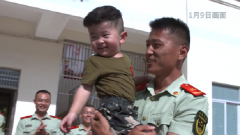 入伍11年未曾回家过年 这次班长圆梦三沙与家人岛上团聚