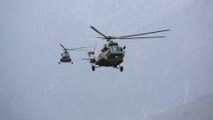 西藏軍區某陸航旅:直升機編隊高海拔飛行訓練