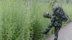 小腿截肢的战士挑战极限 咬牙坚持是为了给战友们打气