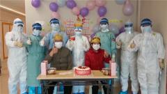 【第一军视】情暖人心!医院病房里的一场特别集体生日
