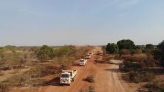 我维和工兵如期完成南苏丹主要补给线建设