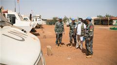 中国第7批赴马里维和医疗分队通过联合国医疗装备专项核查