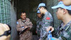 中国第18批赴黎维和多功能工兵分队通过任务期内最后一次军事能力评估