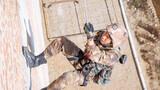 """  近日,陆军第75集团军某合成旅在落实好疫情防控各项措施要求下,着眼部队任务实际,""""以磨砺意志、锻炼精兵""""为训练目标,紧贴实战,组织官兵对攀登、战术、专业等课目进行强化训练,进一步巩固和提高官兵在实战环境中的协同作战能力。图为15米攀登"""