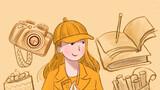 """今天是""""三八""""国际劳动妇女节,一组漫画向所有奋战在抗击疫情一线的女性医护人员致敬!愿你们平安健康,早日打赢疫情防控阻击战。图:你是橙色,青春激昂,活力阳光。"""