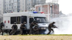 向战而行!武警泰州支队组织特战队员开展实战化军事训练
