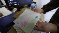 【直通疫情防控一线】新闻特写:书信写给最可爱的人