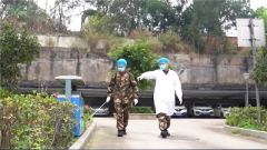 【打赢疫情防控阻击战】武警广西总队采取多种措施做好基层防疫工作