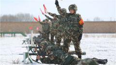 雪域战味儿浓!武警塔城支队组织官兵开展实战化射击训练
