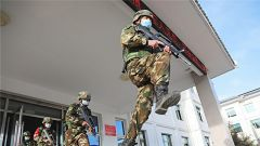 武警甘南支队开展战备拉动演练 锤炼部队应急处突能力