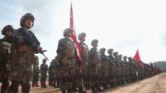 """中柬两军""""金龙-2020""""联合训练开训"""