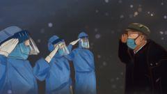 """原創漫畫手繪:""""戰疫""""我們在一起"""