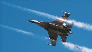 酷!一组镜头带你直击空军航空兵某旅实战化练兵