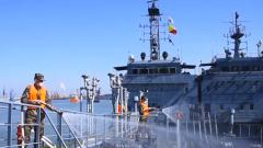 无锡联勤保障中心某船运大队组织海上实战化演练