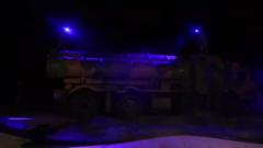 【抗疫不誤戰斗力 防控不松戰備弦】海軍某岸導團:夜間全防護戰斗訓練