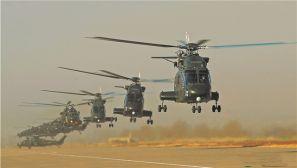 風沙漫天 鐵翼飛旋——陸軍第76集團軍某陸航旅實戰化飛行訓練掠影