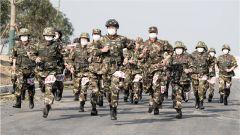 武警江苏总队宿迁支队严密组织特战队员开展摸底考核