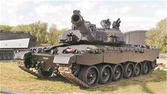 """""""挑戰者2""""坦克:最重的現役線膛炮坦克"""