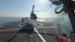 【第一军视】极速救援!海空联合搜救演练在黄海展开