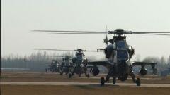 昼夜飞行 陆航部队检验全天候作战能力