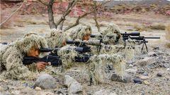 一枪毙敌!新疆克拉玛依支队组织狙击手开展实战化军事训练