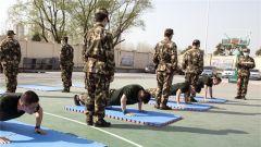 强兵先强将 武警宿迁支队严密组织机关干部军事体育考核