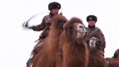 特殊战友与边防军人一起用足迹丈量边防线