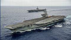 双航母编队开赴中东 叶海林:美军事施压将成常态