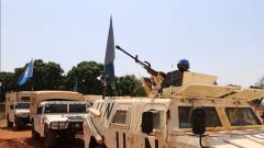 中國維和步兵營完成武裝護衛聯合國車隊任務