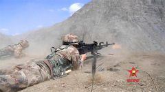 【第一军视】带劲!新兵重机枪射击强势来袭