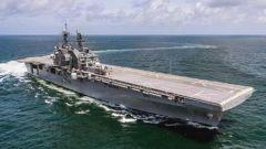 美两栖攻击舰放弃准航母定位 房兵:美军种间博弈的结果