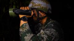 山岳叢林 偵察兵暗夜隱蔽滲透